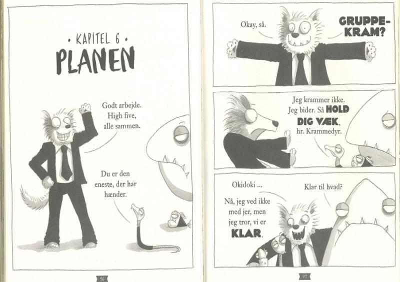 Billede fra tegneserien Bad guys