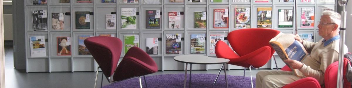 Tidsskrifter på Taastrup Bibliotek
