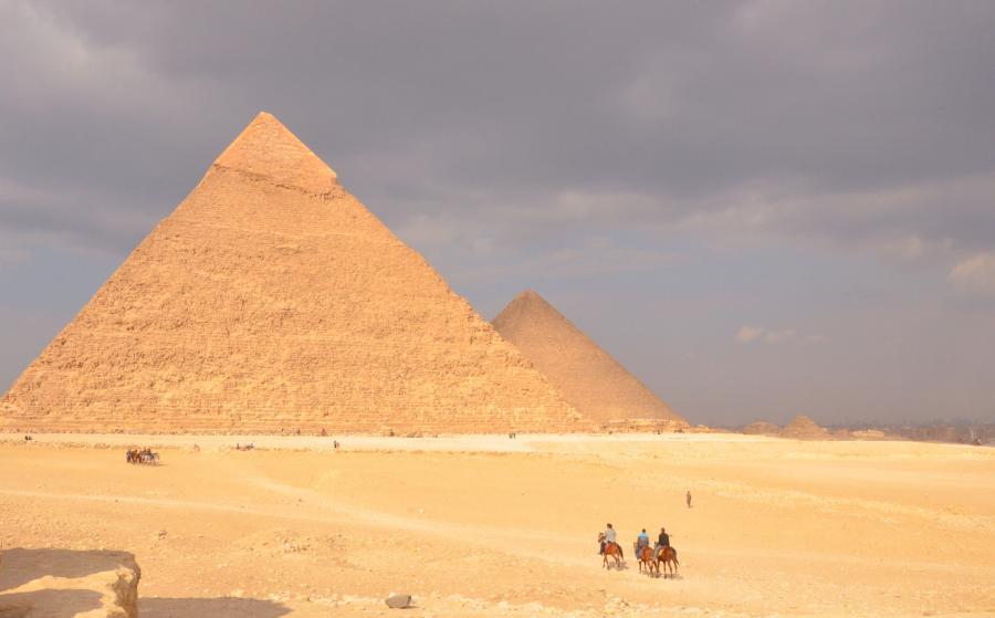 Egyptens pyramider
