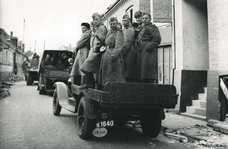 Billede fra dokumentaren Russerne på Bornholm