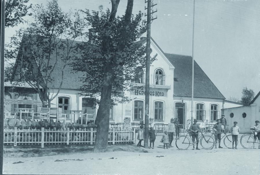Historisk billede fra Hedehusene