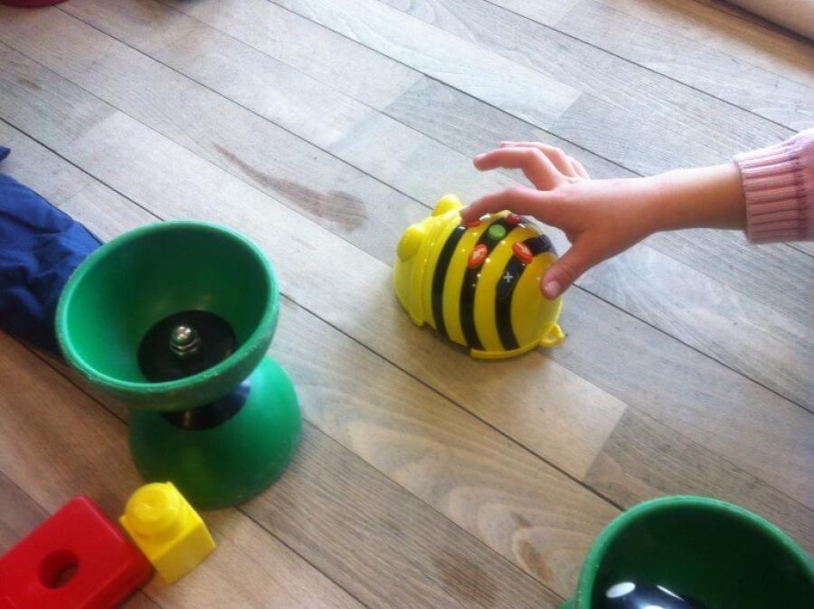 Robotter i børnehøjde