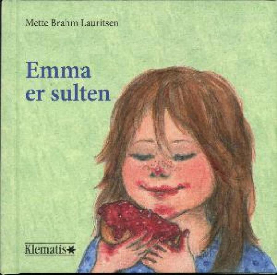Forsiden af bogen Emma er sulten