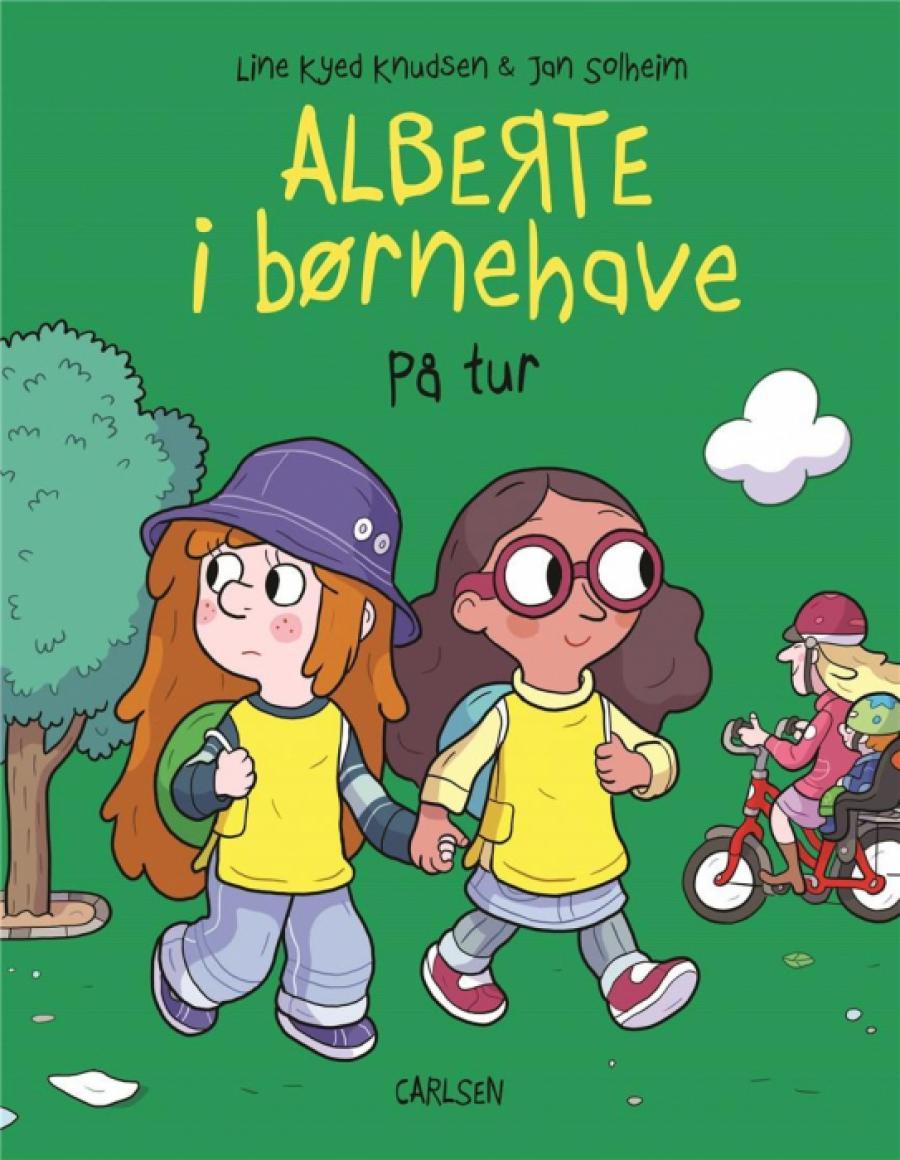 Alberte i børnehave - På tur