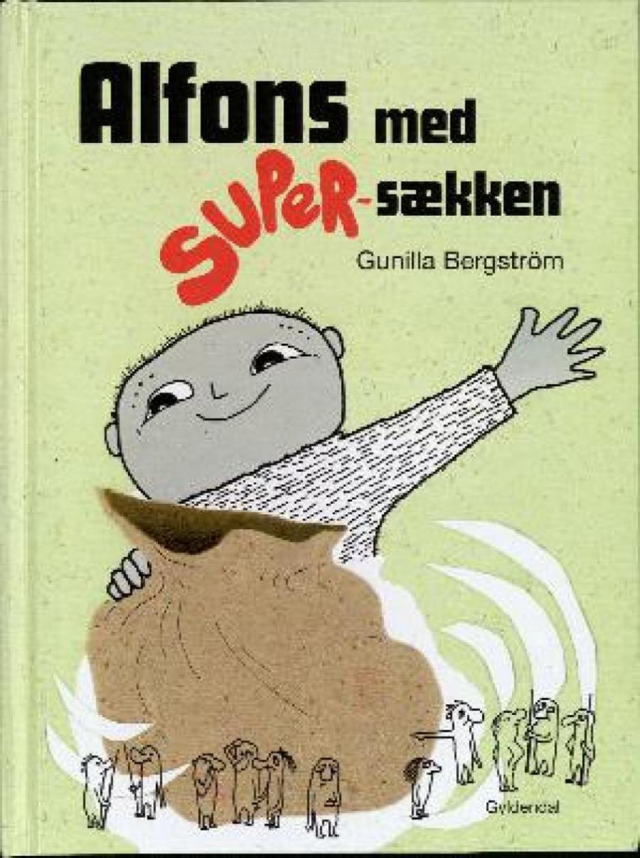 Forside af bogen Alfons og super-sækken