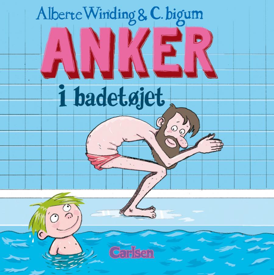 Forside f bogen Anker i badetøjet