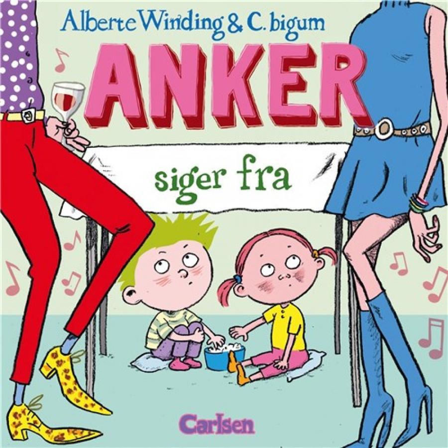 Forside af bogen Anker siger fra