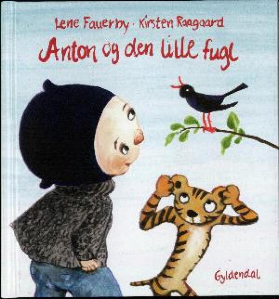 Forside af bogen Anton og den lille fugl