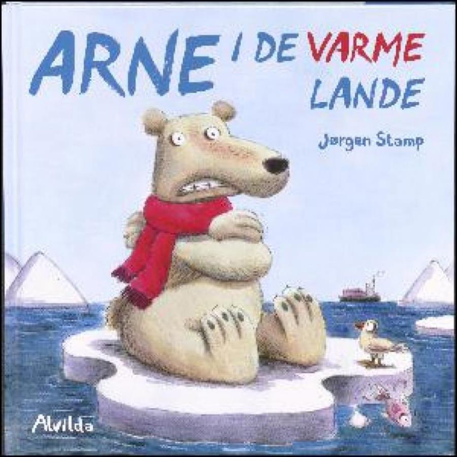 Forside af bogen Arne i de varme lande