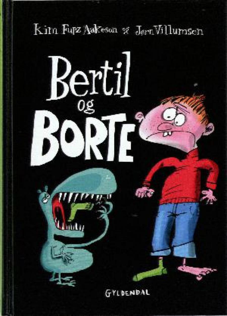 Forside af bogen Bertil og Borte