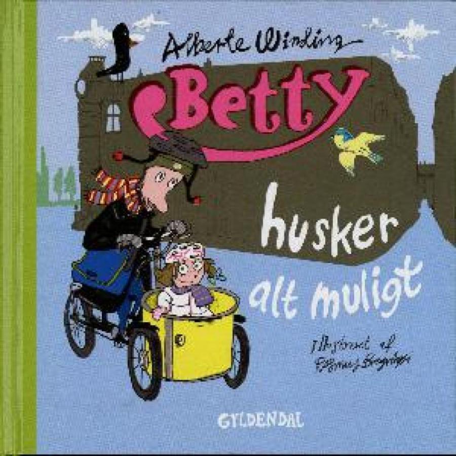 Forside af bogen Betty husker alt muligt