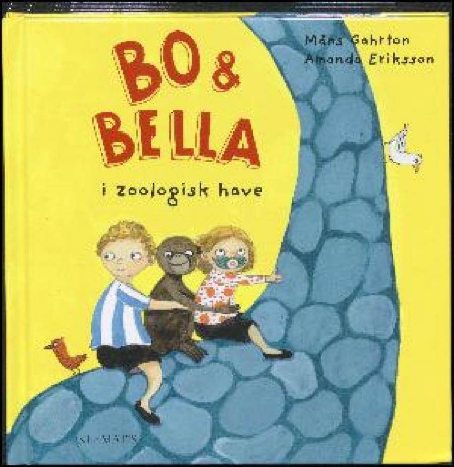 Forside af bogen Bo & Bella i Zoologisk have