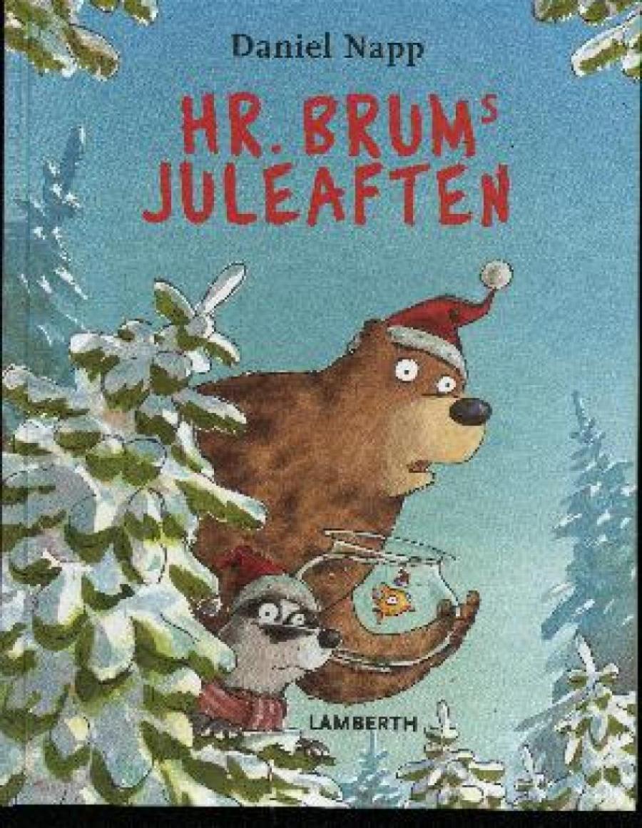 Forside af bogen Hr. Brums jul