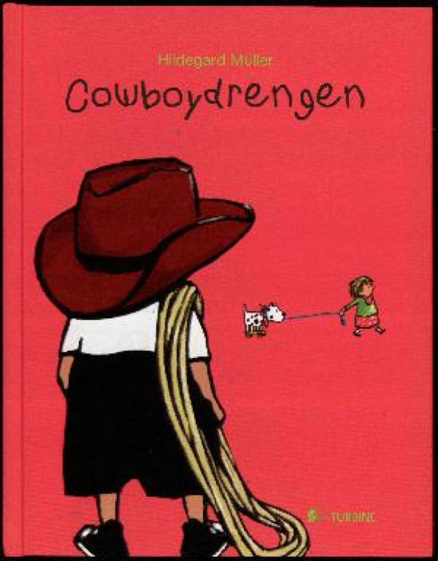 Forside af bogen Cowboydrengen