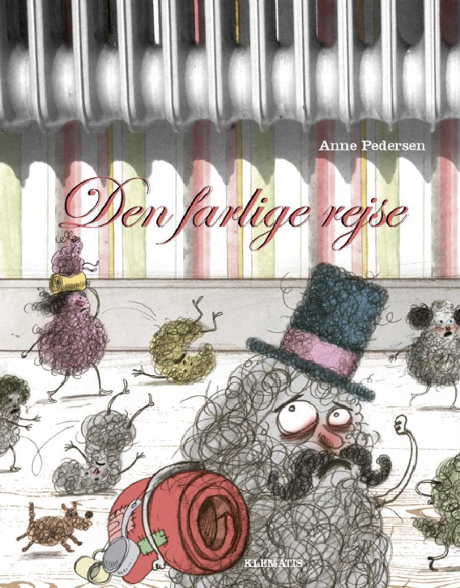 Forside af bogen Den farlige rejse