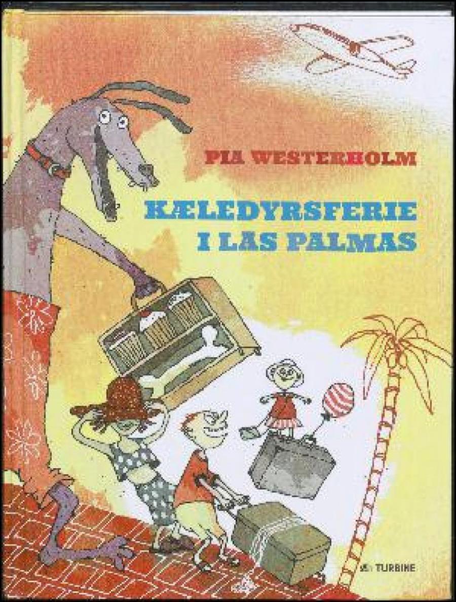 Forside af bogen Kæledyrsferie i Las Palmas