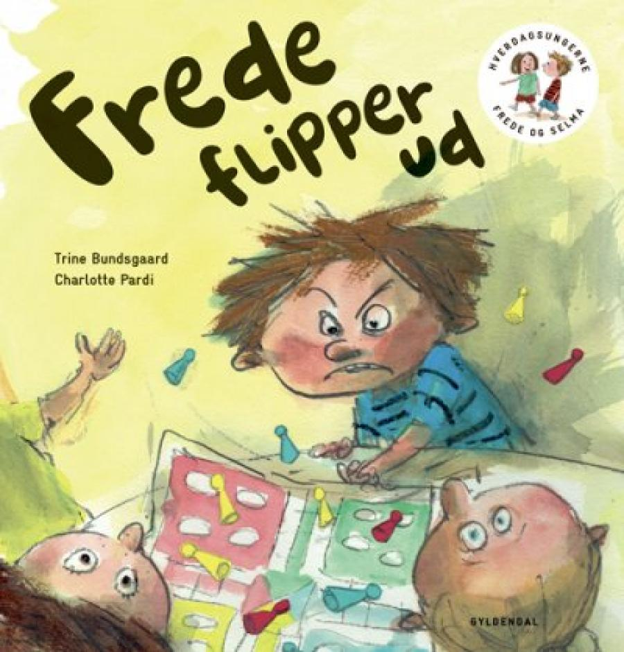 Forsiden af bogen Frede flipper ud