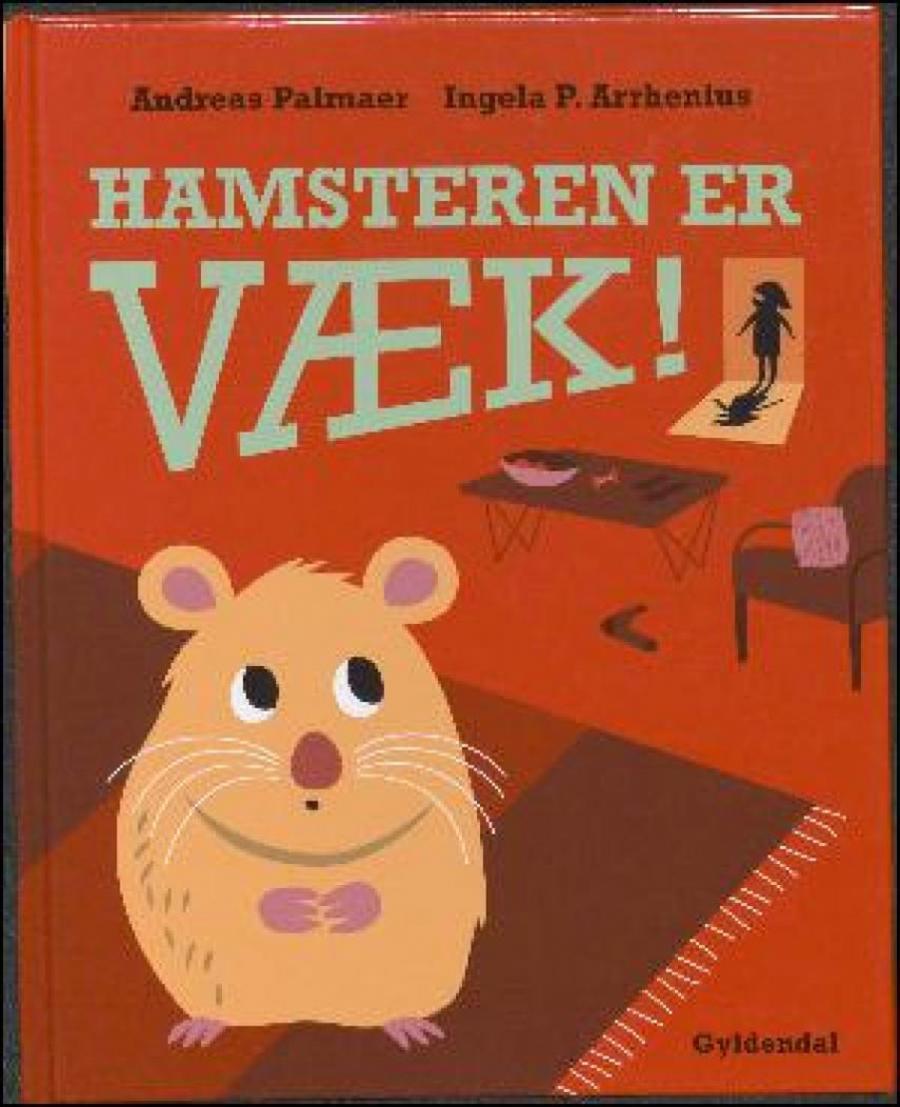 Forside af bogen: Hamsteren er væk