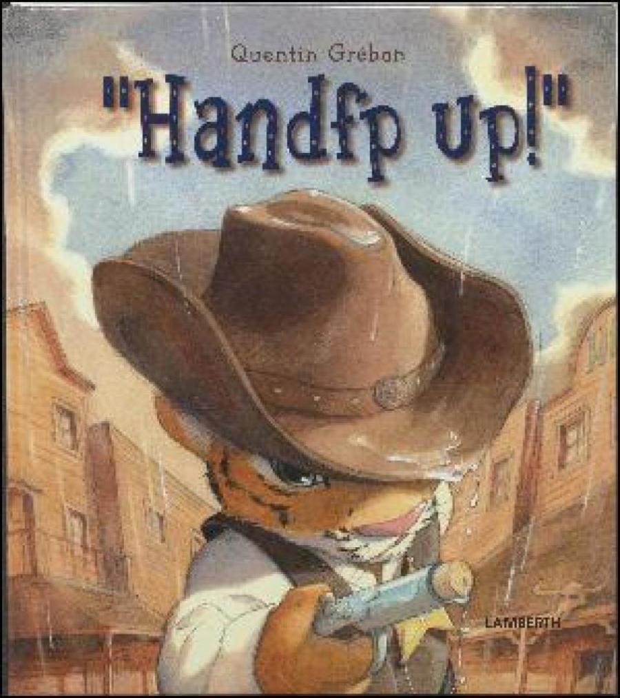 Forside af bogen: Handfp up!