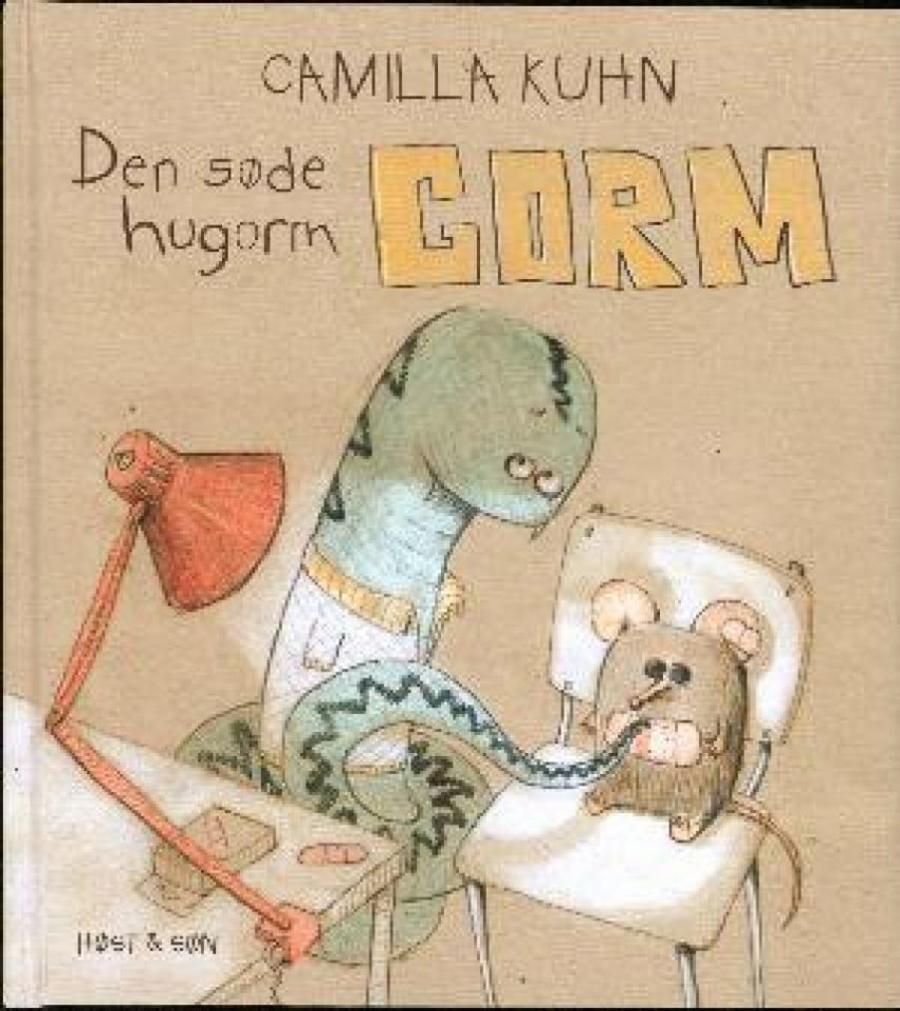 Forside af bogen: Den søde hugorm Gorm