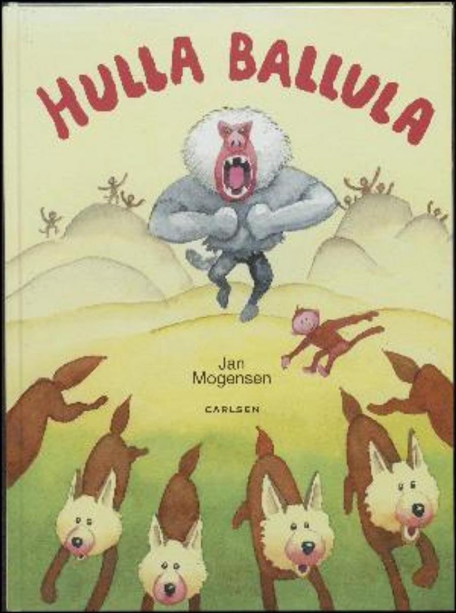 Forside af bogen Hulla Ballula