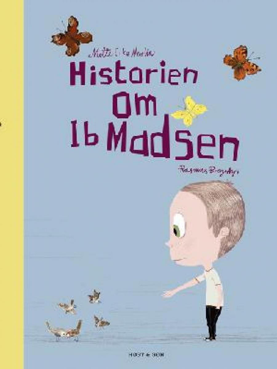 Forside af bogen Ib Hansen