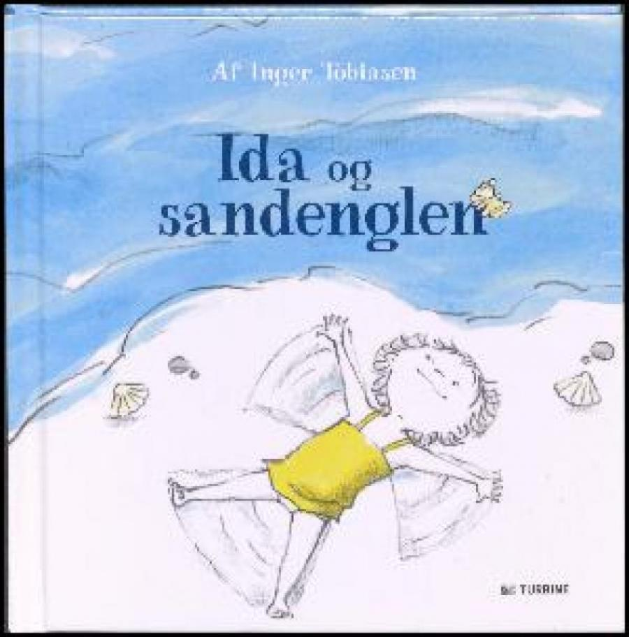 Forside af bogen Ida og regnvandspytten