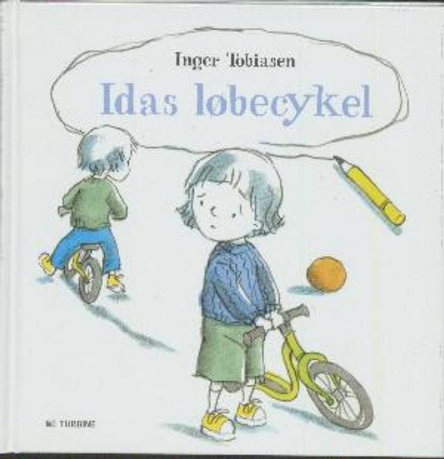 Forside af bogen Idas løbecykel