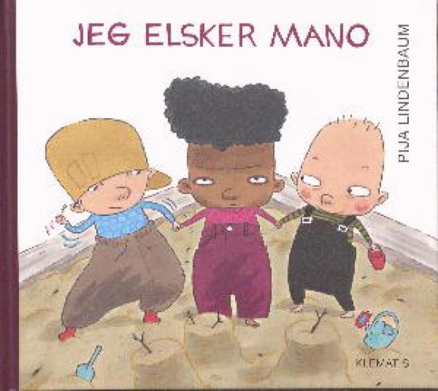 Forside af bogen Jeg elsker Mano
