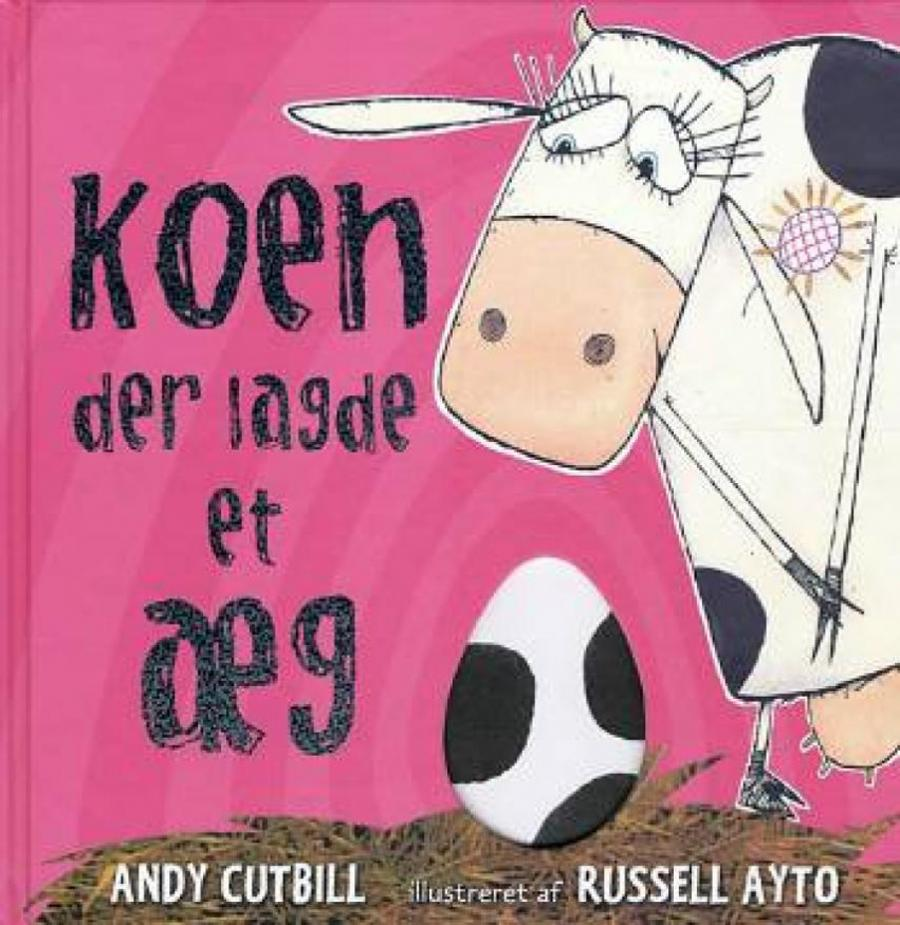 Forside af bogen Koen der lagde et æg