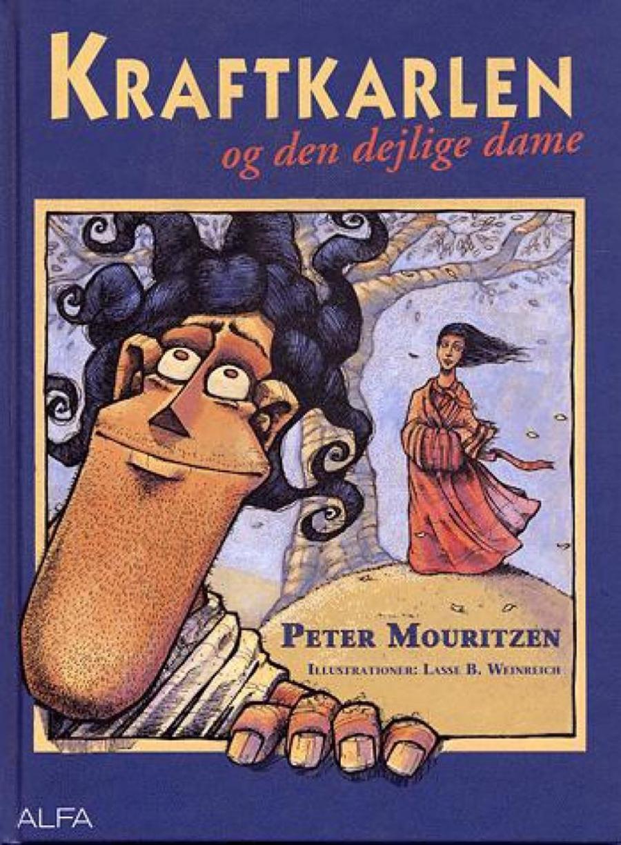 Forside af bogen Kraftkalen og den dejlige dame