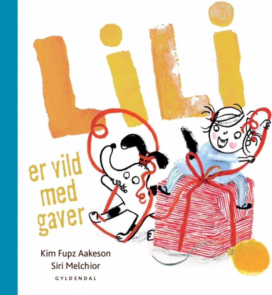 Forside af bogen Lilli er vild med gaver