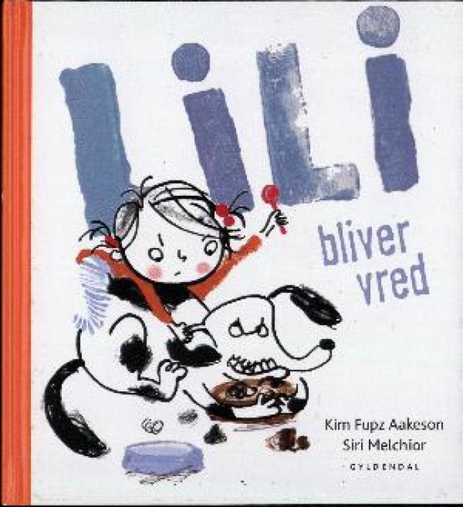 Forside af bogen Lili bliver vred