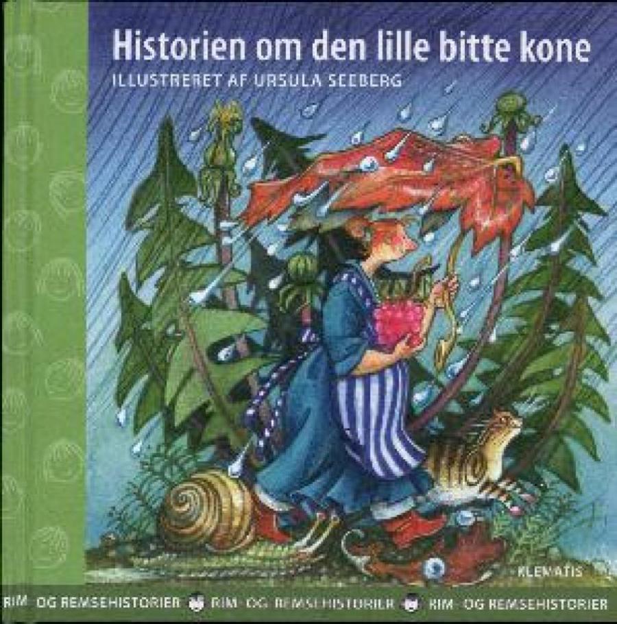 Forside af bogen Den lille bitte kone