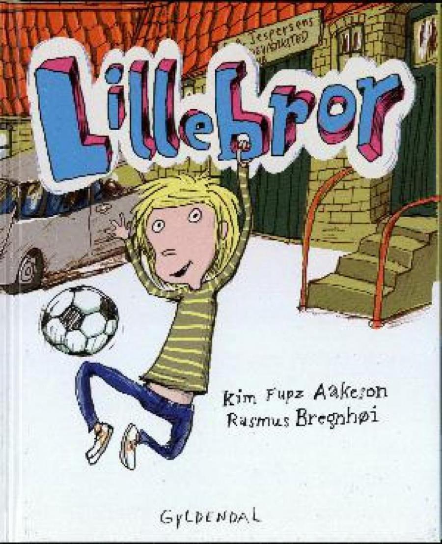 Forside af bogen Lillebror