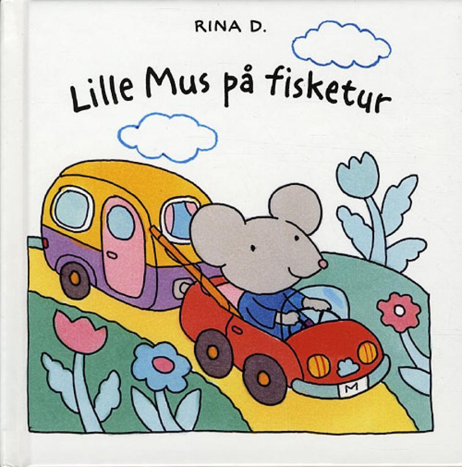 Forside til bogen Lillemus på fisketur