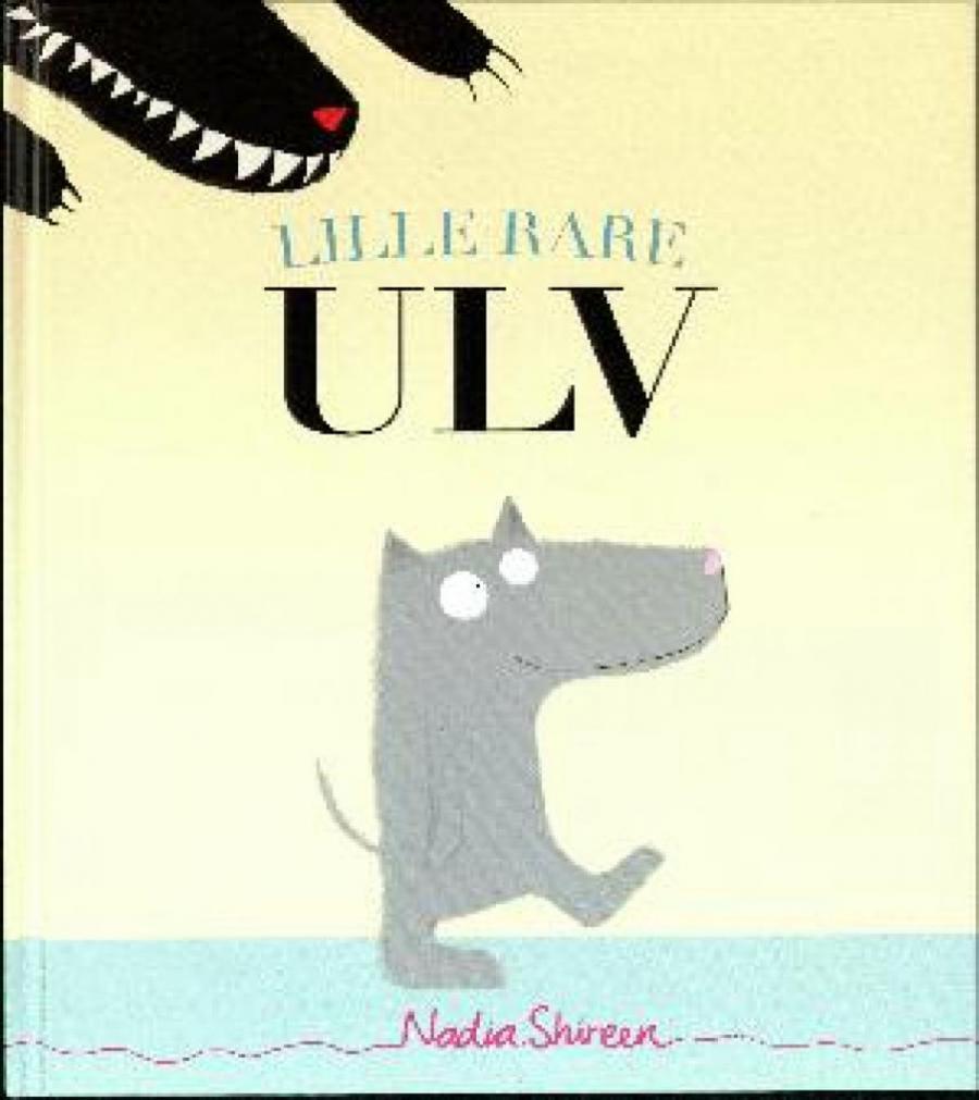 Forside af bogen: Lille rare ulv