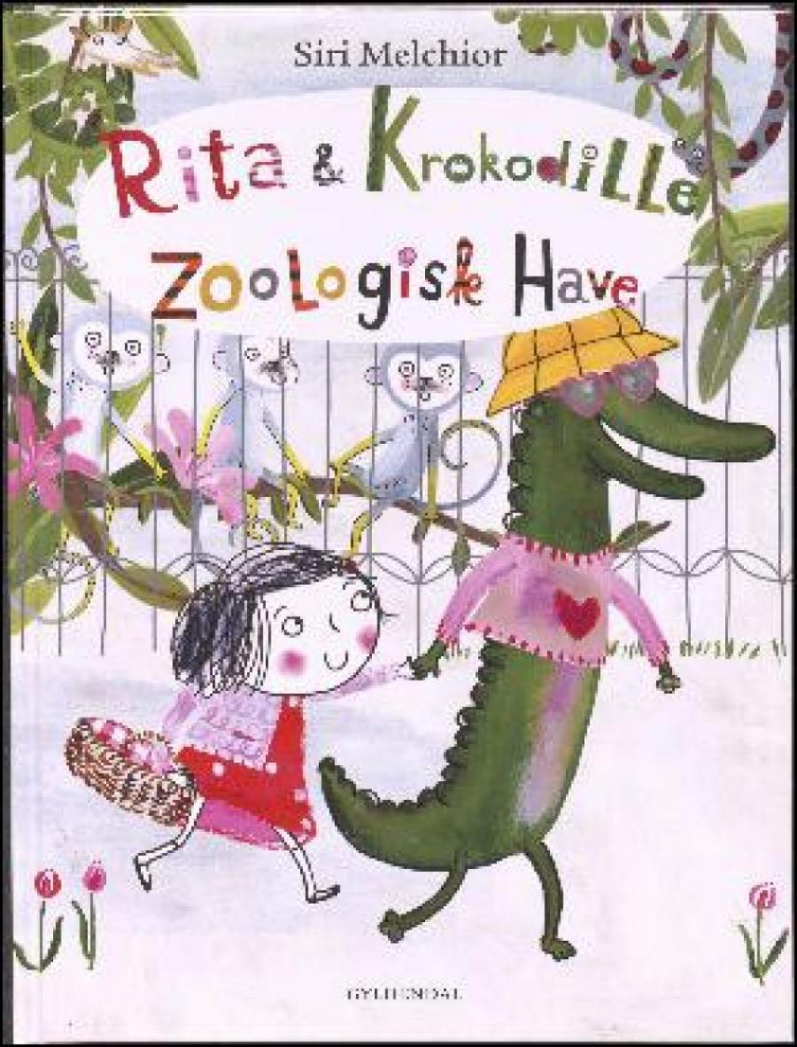 Forside af bogen Rita & krokodille - zoologisk have