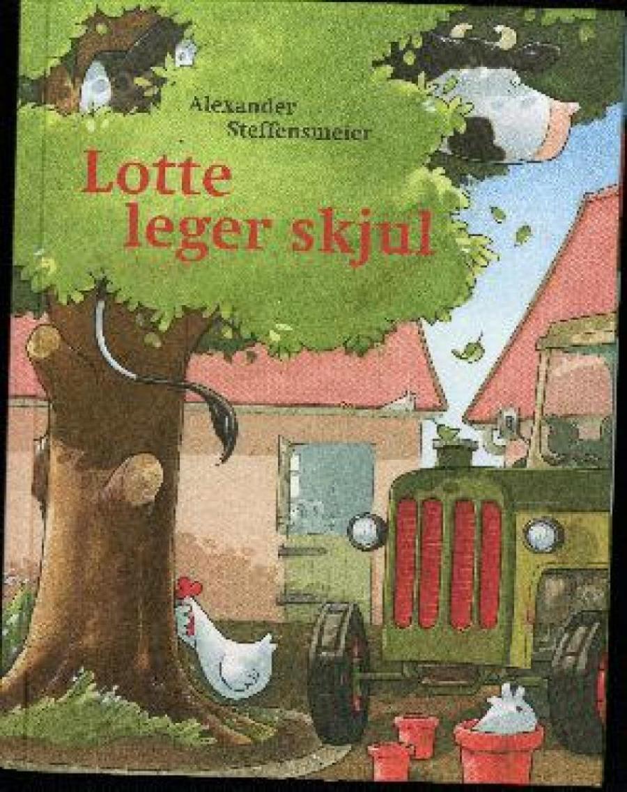 Forside af bogen Lotte leger skjul