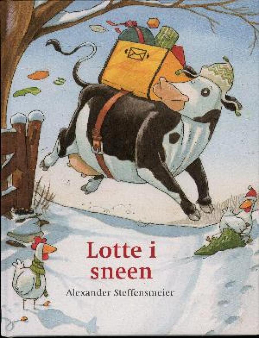 Forside af bogen Lotte i sneen