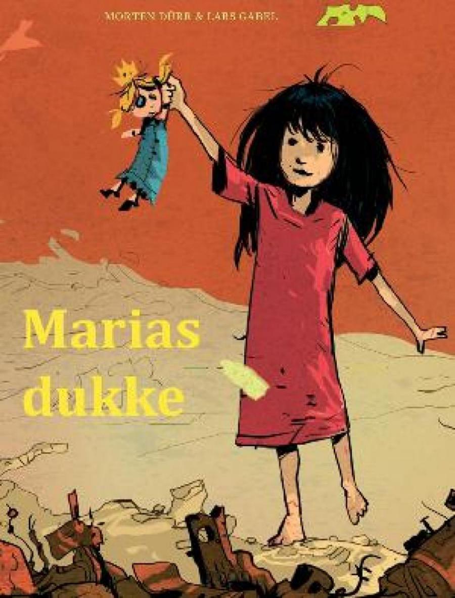 Forside af bogen Marias dukke