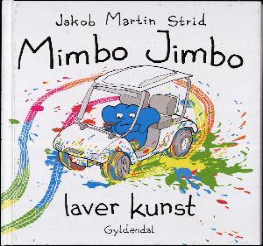 Forside af bogen Mimbo Jimbo laver kunst