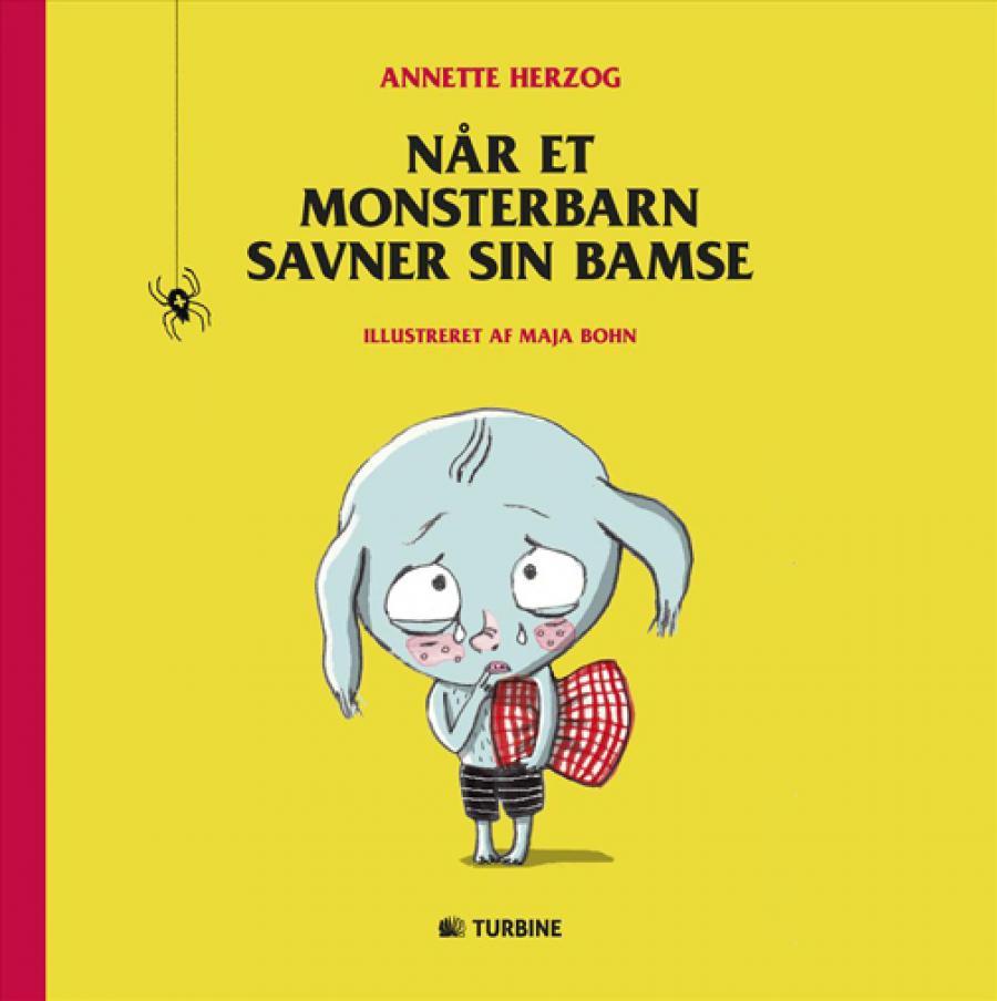 Forside af bogen Når et monsterbarn savner sin bamse