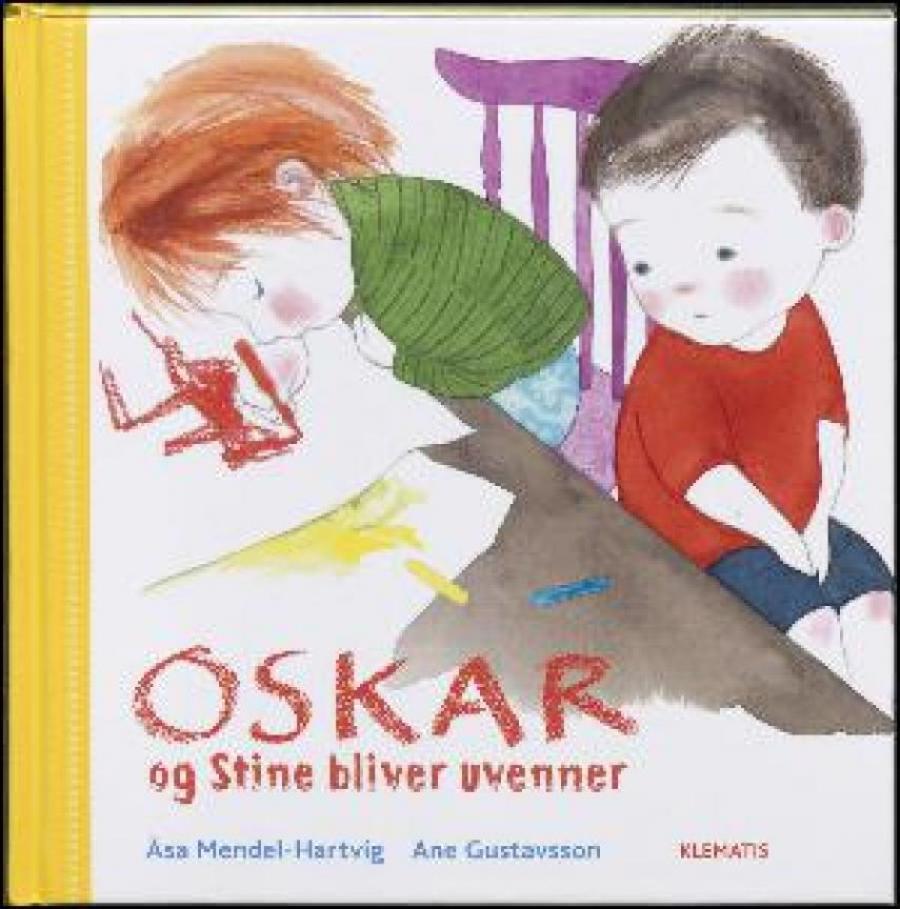 Forside af bogen Stine og Oskar bliver uvenner