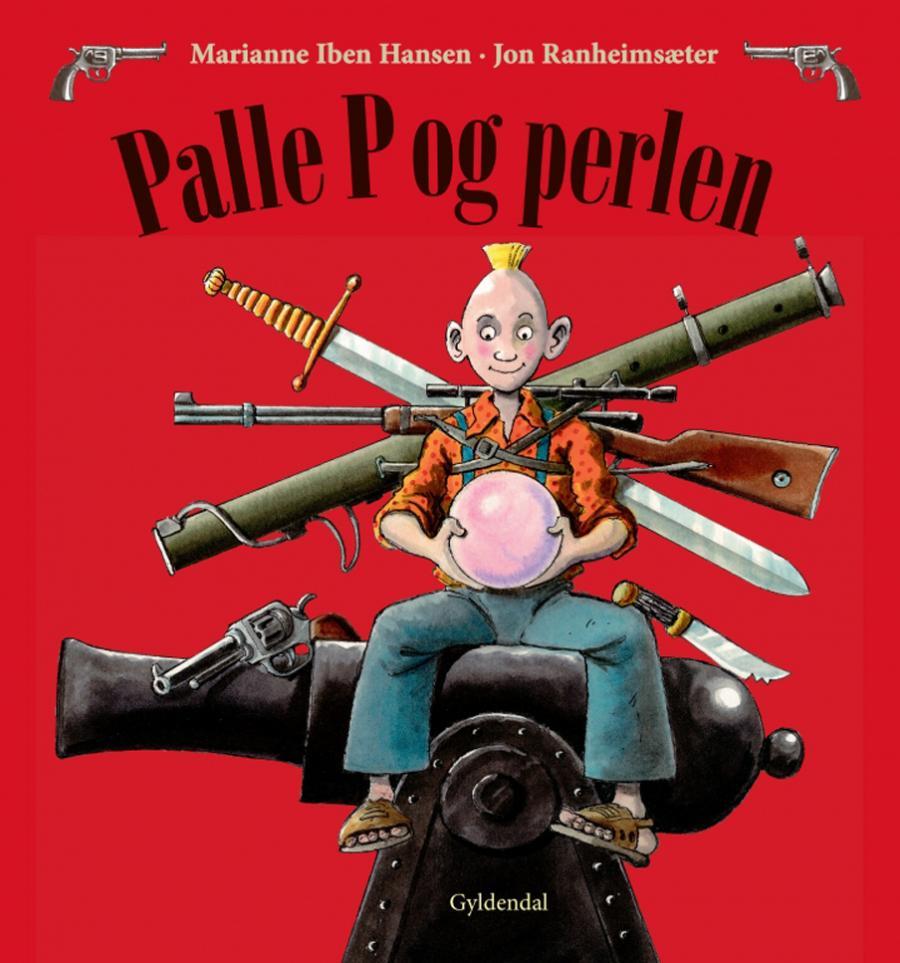 Forside af bogen Palle P. og perlen