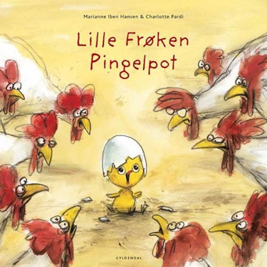 Forside af bogen Lille Frøken Pingelpot