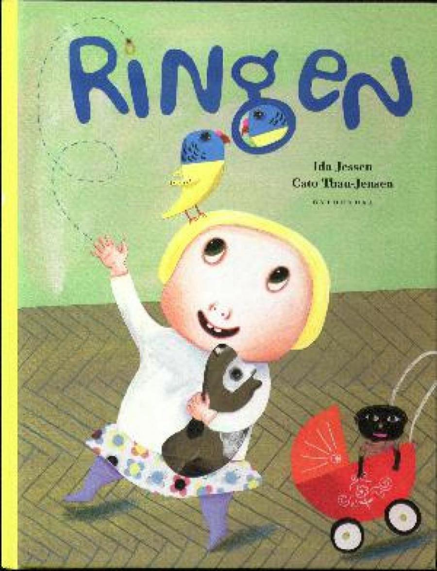 Forside af bogen: Ringen