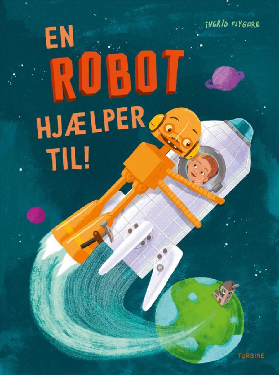 Forside af bogen En robot hjælper til
