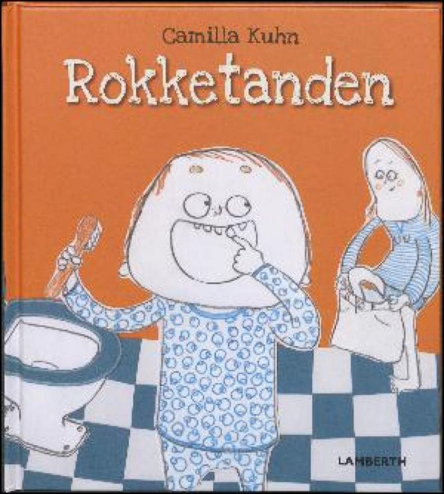 Forside af bogen: Rokketanden