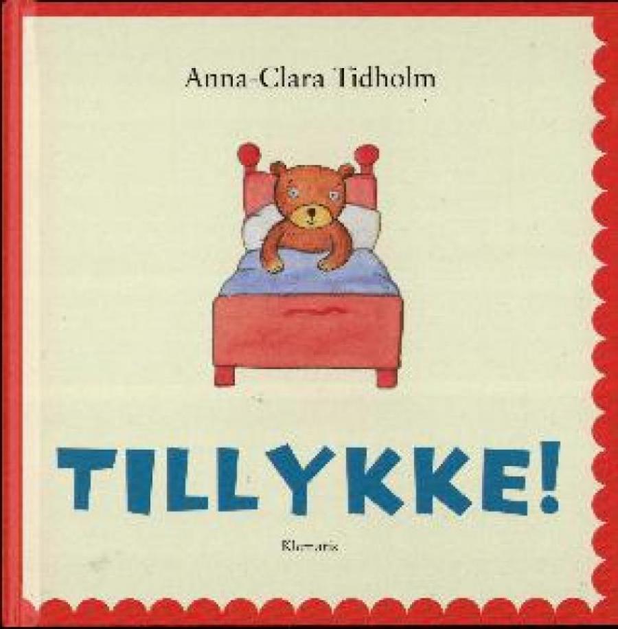 Forside af bogen Tillykke!